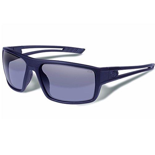 Gargoyles Wall Performance Sonnenbrille, matt schwarz Rahmen/Blau Objektiv