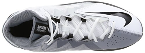 Nike Air Max Stutter Step 2, Scarpe sportive, Uomo White/Black/Stealth/Cool Grey