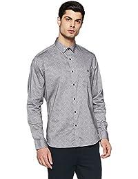 Van Heusen Sport Men's Printed Slim Fit Cotton Casual Shirt - B079LD3VSQ