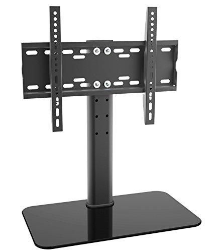 Preisvergleich Produktbild TV Fernseher Standfuß universal 32 - 55 Zoll Halterung Halter Ständer LED LCD, Farbe:schwarz