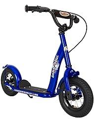 bike*star 25.4cm (10 Zoll) Kinder-Roller - Farbe Blau