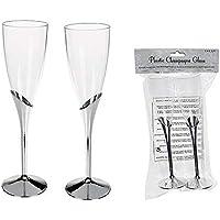 OOTB Copas de champán de plástico cartón 24unidades