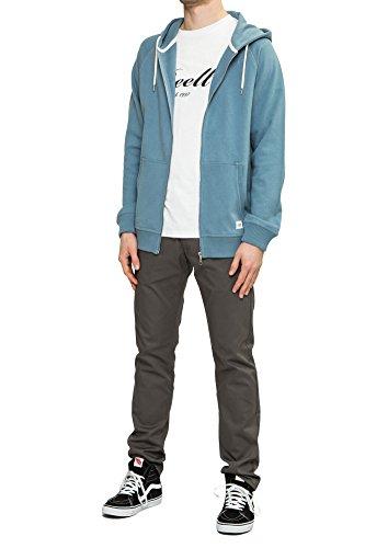 REELL Hoody Zip Hoody SP17 Artikel-Nr.1305-004 - 03-021 Province Blue
