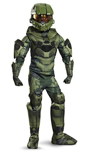 Disguise Master Chief Prestige Costume, Medium - Jungen Master Chief Kostüm
