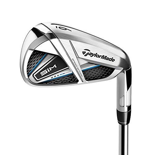 TaylorMade 2020 SIM MAX Graphite Shaft Golf Irons - Regular Flex - (5,6,7,8,9,PW,SW) - Right Hand - Shaft - Ventus Blue 6-R Graphite (66gm)
