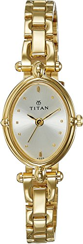 41qquzgrNkL - Titan NE2419YM01 Silver Women watch