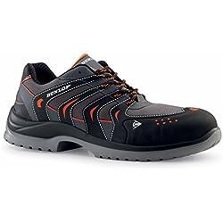 Dunlop Sport Racer - Zapatos de protección laboral S1P SRC, talla 46, color negro