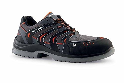 Dunlop DL020100 Herren Sicherheitsschuhe Schwarz/Schwarz
