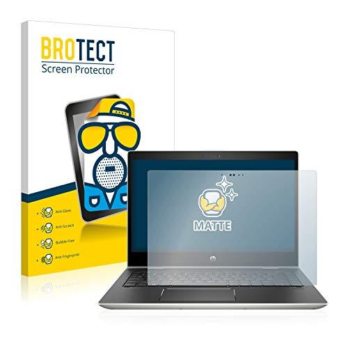 BROTECT Schutzfolie Matt kompatibel mit HP ProBook x360 440 G1 (Zwei Kameras) - Anti-Reflex (Reflex-kamera)
