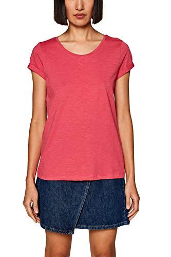 edc by ESPRIT Damen 999CC1K802 T-Shirt Rosa (Pink Fuchsia 3 662) Medium (Herstellergröße: M)