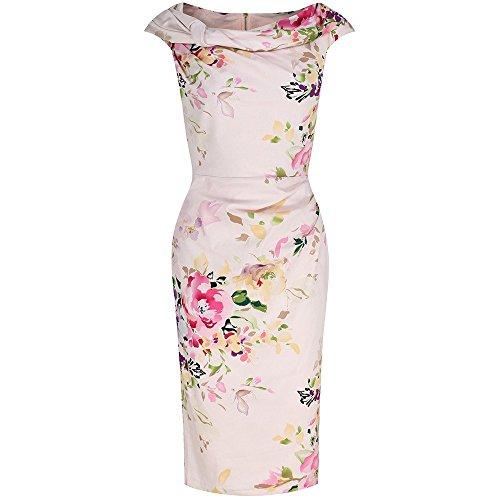 pretty-kitty-fashion-robe-crayon-sans-manche-femme-rose-rose-rose-xl