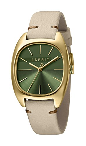 Esprit Womens Analogue Quartz Watch with Leather Strap ES1L038L0055