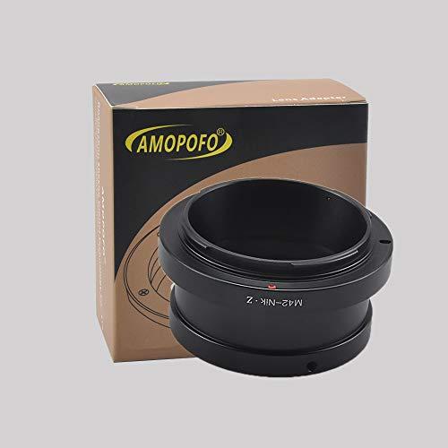 Amopofo adattatore per m42obiettivo vite z6z7fotocamera mirrorless nikon z full frame