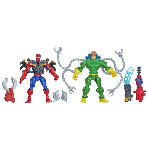 Preisvergleich Produktbild Marvel Super Hero Mashers Spider-Man Vs. Doc Ock Mash Pack