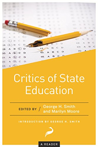Critics Of State Education A Reader