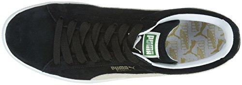 Puma Classic Eco, Baskets Basses Mixte Adulte Noir (Black/White 03)