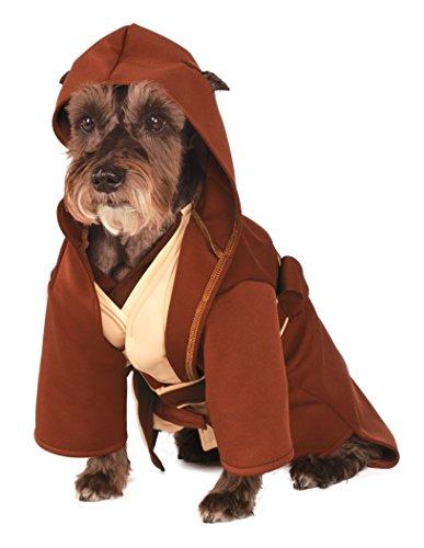 ny Star Wars Classic Jedi Robe Pet Kostüm (Dog Star Wars Kostüm)