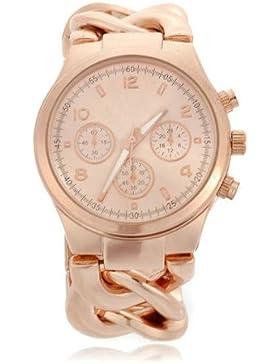 Damen Armbanduhr Armkette Armrei