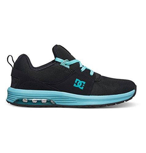 DC Shoes Heathrow IA - Baskets Pour Femme ADJS200003 Noir - Black/Aqua