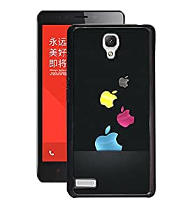 Crazymonk Premium Digital Printed 3D Back Cover For Xiaomi Redmi Note 4G