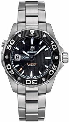 TAG Heuer - Reloj de pulsera hombre, acero inoxidable, color plateado