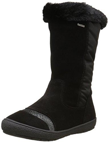 PrimigiChelsea-e - Stivali a metà gamba con imbottitura pesante  Bambina , nero (Schwarz (Nero/Nero)), 28 EU