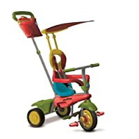 SmarTrike Joy 4-in-1 Age Stages (Green/Red)