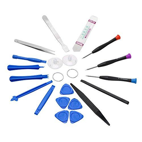iTimo 20 in 1 Handy Reparatur Werkzeug Set für iPhone iPad Samsung Handy Öffnen Werkzeug Set Hand Werkzeug Reparatur Demontage Kit
