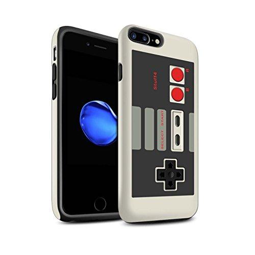 STUFF4 Matte Harten Stoßfest Hülle / Case für Apple iPhone SE / Nintendo Game Boy Muster / Spielkonsolen Kollektion Klassisches Nintendo