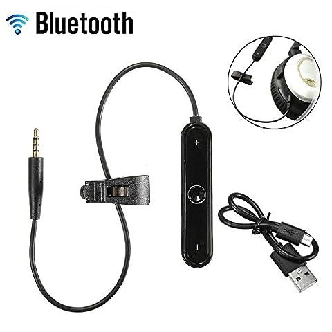 Adaptateur Bluetooth pour Bose SoundTrue–SoundLink–OE2/Qc25On-Ear & Around-Ear casque–récepteur sans fil câble