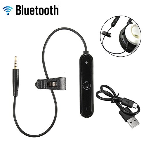 Bluetooth adaptador para Bose SoundTrue – Bose SoundLink – OE2/QC25 Auriculares & Around-Ear auriculares – auriculares inalámbrico receptor cable