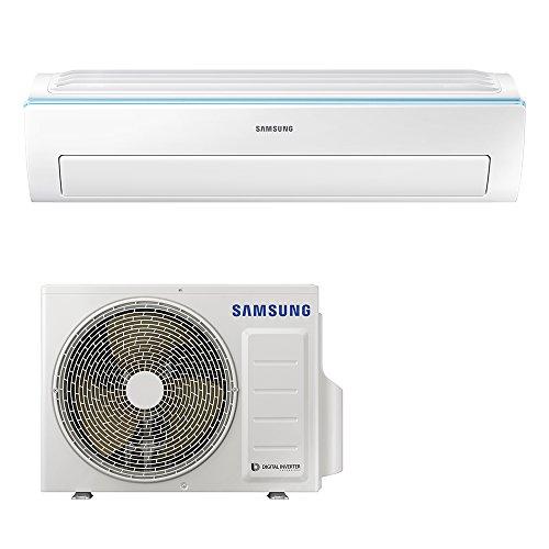 Samsung ar12nxwsaurneu+ar12nxwsaurxeu new triangle monosplit climatizzatore, wi-fi, 12000 btu