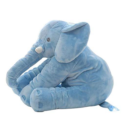 Animal De Peluche Cojín Niños Almohada Suave Juguete Elefante Lindo Muñeca De...