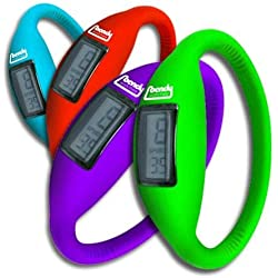 BANDY WATCHES ~ SINGLE PACKET ~ THE LATEST CRAZE ~ Silicone Water Resistant Watch