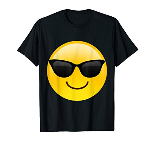 Emoji Shades Smiley-Sonnenbrille Cooles Sunny Hot Shirt T-Shirt