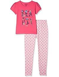Cherokee Girls' Regular Fit Sleepsuit