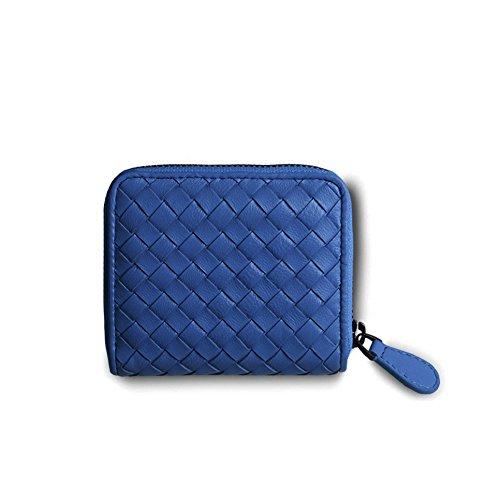 Faysting EU donna portafoglio donna borsellino multi colori rete piccolo con catenina buon regalo E