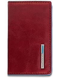 Piquadro Blue Square Porta tarjetas de visita piel 10 cm