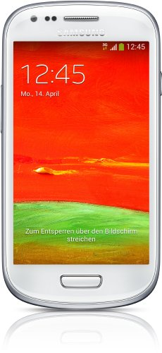 ni (GT-I8200) Smartphone (4 Zoll (10,2 cm) Touch-Display, 8 GB Speicher, Android 4.2) weiß (Samsung Galaxy Handy 3 Cover)