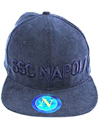 CAPPELLO UOMO SSC NAPOLI BASEBALL CON VISIERA PIATTA BY ENZO CASTELLANO  12447 MODA ITALIANA c13f11a01ac5