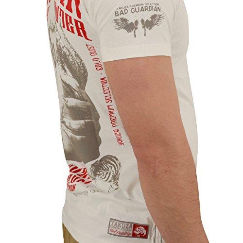 Yakuza Premium T-Shirt YPS-2211 Weiß Weiß