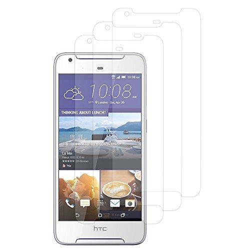 VComp-Shop® 3x Transparente Bildschirmschutzfolie für HTC Desire 628/ 628 dual sim - TRANSPARENT