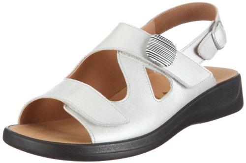 Ganter Monica 1-202560-0400, Sandali donna Bianco/Bianco sporco