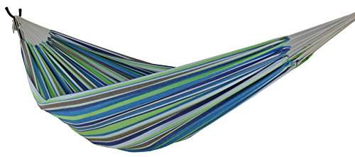 Zoophyter Queen Size Hammock, High Quality cotton. Perfect for park, Yard, Bedroom, Porch, Indoor & Outdoor (SeaGrass)