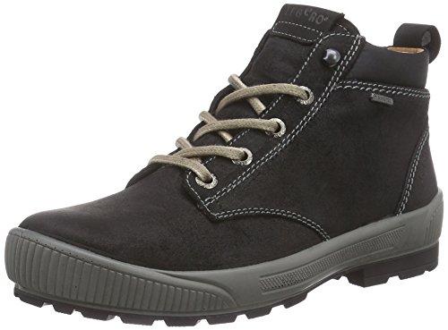 Legero TARO, Damen Derby Hohe Sneakers, Schwarz (SCHWARZ MULTI 03), 39 EU (6 Damen UK)