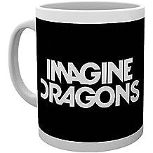 GB Eye LTD, Imagine Dragons, Logo, Taza