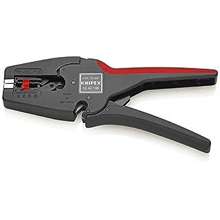 Knipex 12 42 195 MultiStrip 10 – vollautomatische Abisolierzange