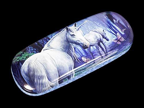 Fantasy Brillenetui mit Einhorn-Motiv - The Journey Home   Hartschale, Hardcase, Motiv von Lisa Parker