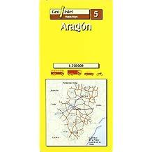 Aragón: Aragon Road Map 1:250, 000 (Mapas de carreteras. Comunidades autónomas y regio)