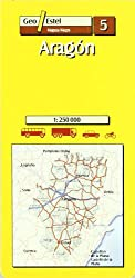 05: Aragon Road Map 1:250, 000